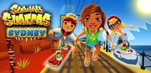 Set up subway surfers hack on ios using tweakbox