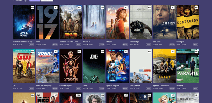 Best Free Movie Streaming Sites No Sign Up